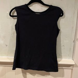 Black Tommy Bahama shirt with keyhole back